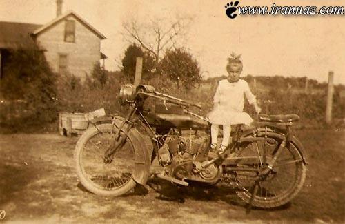 وقتی مادر بزرگ موتور سوار سوژه داغ رسانه ها میشود!