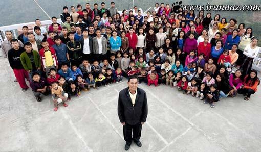 این مرد با 39 همسر و 94 فرزند رکورد دار گینس شد!