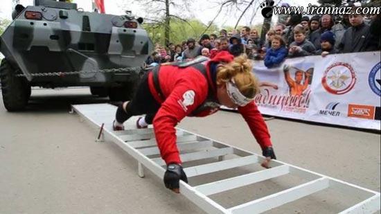 عکس های جالب و دیدنی از مسابقات قویترین زنان دنیا