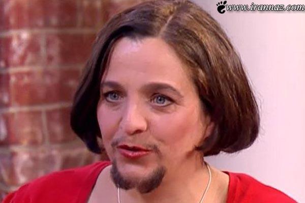 وقتی یک زن تصمیم به بلند کردن ریش های خود میگیرد!