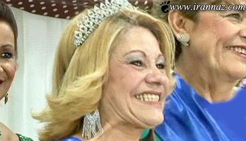 این خانم 87 ساله ملکه زیبایی کشور برزیل شد (عکس)