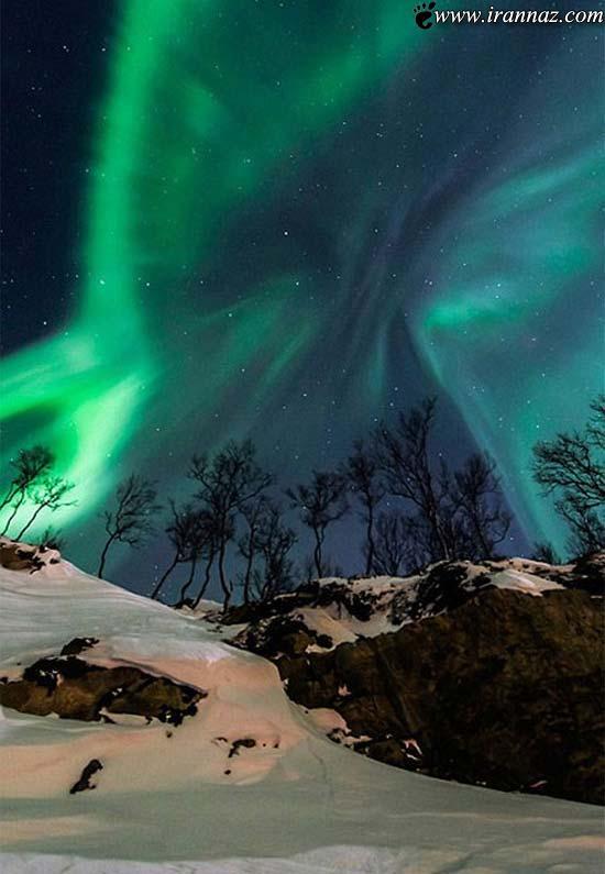 زیبا و شگفت انگیزترین عکس ها از آسمان شب 2013