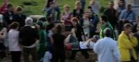 عجیب، وحشیانه و دردناکترین مسابقه در جهان (عکس)