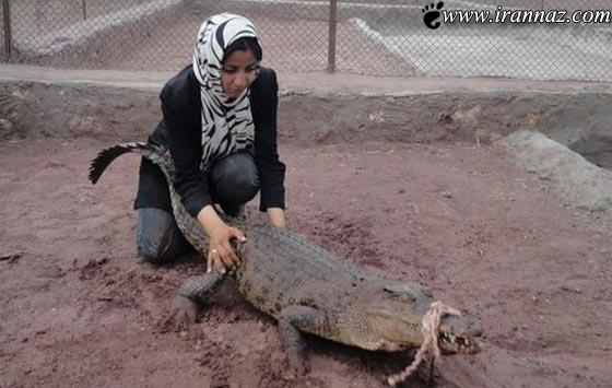 عکس های دیدنی یکی از شجاع ترین زنان ایران زمین