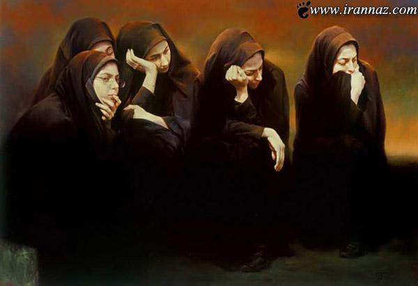 آثـار نقاشی زیبا و دیدنی از استاد مرتضی کاتوزیان