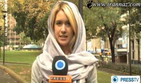 وقتی خانم مانکن خبرنگار صدا و سیما میشود! (عکس)