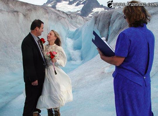 عکسهای بسیار جالب از ازدواج هایی برای معروف شدن