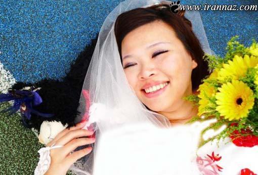 ازدواج عجیب و جنجالی یک دختر زیبای تایوانی! (عکس)