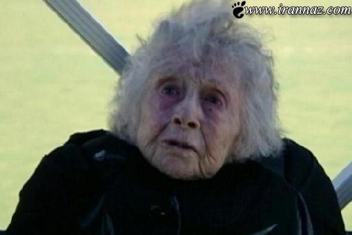اقدام عجیب این خانم 102 ساله در روز تولدش! (عکس)