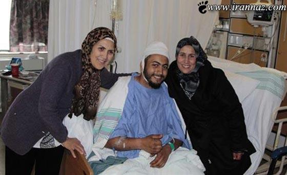 شجاعت دو زن در نجات یک مرد از دست خرس (عکس)