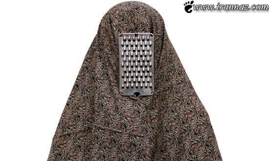 تمسخر زنان خانه دار ایرانی توسط عکاس وطنی(عکس)