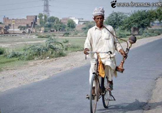 لذت حضور در ترافیک با وجود این اشخاص (عکس)