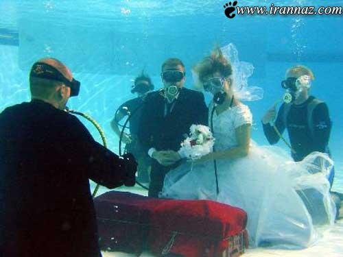 عکس های خنده دار از ازدواج هایی برای معروف شدن!