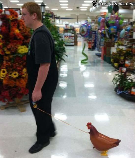 عکس های خنده دار از آدمهای عجیب با کارهای عجیب