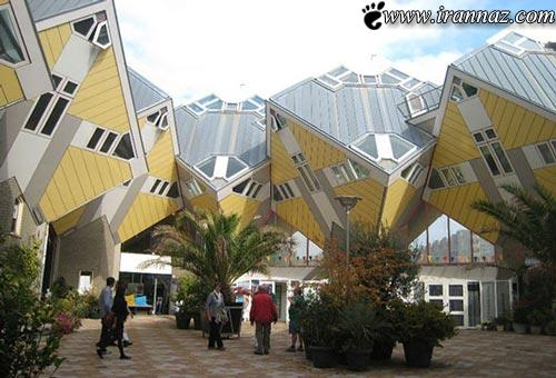 هشت ساختمان بسیار عجیب و جالب جهان! (+تصاویر)