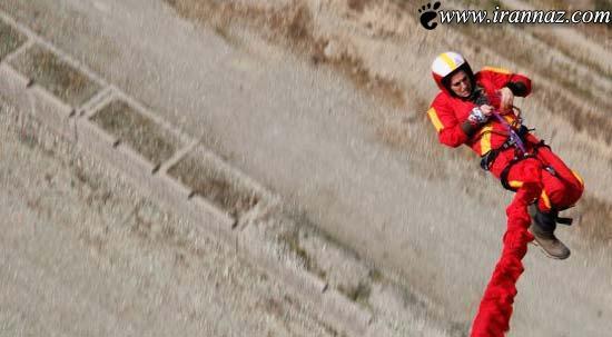 خانم ورزشکار ایرانی و انجام عملیات غیر ممکن (عکس)