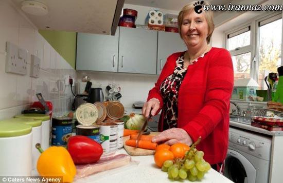 زن عجیبی که در خواب به آشپزخانه میرود و غذا میخورد