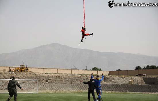 خانم ورزشکارایرانی و انجام عملیات غیر ممکن(عکس)