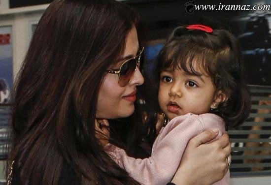 عکسهای جدید آیشواریا رای و دخترش در جشنواره کن