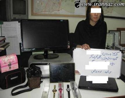 این خانم خوشتیپ سارق خانه های ویلایی تهران است!