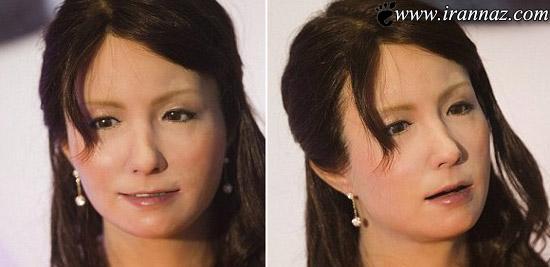 عکس های طبیعی ترین دختر مصنوعی و روبات در جهان