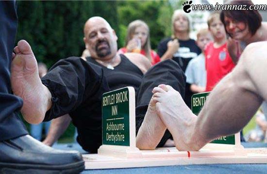 عجیب، خنده دار و احمقانه ترین مسابقات دنیا (+تصاویر)