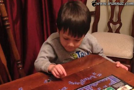 این بچه پنج ساله به جمع باهوش ترین های دنیا پیوست
