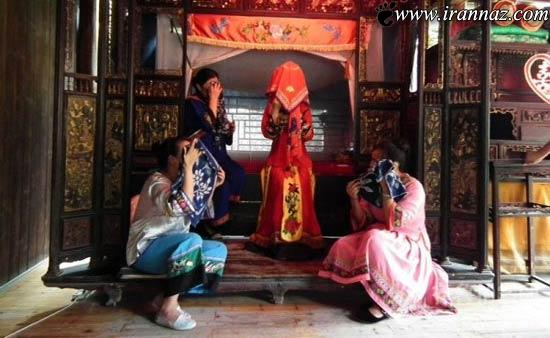 رسم عجیب دختران چینی برای شب عروسی! (عکس)