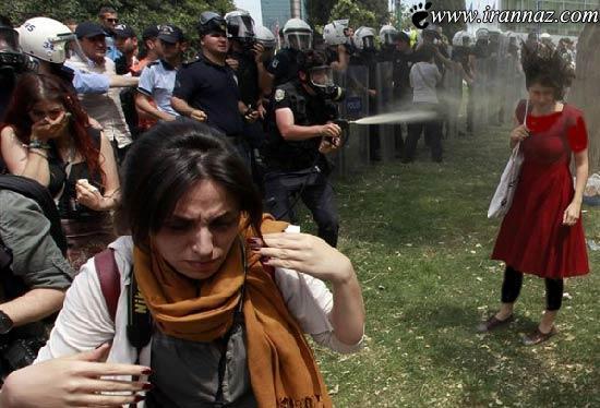 این دختر خانم عامل اصلی انقلاب اخیر در ترکیه است !!