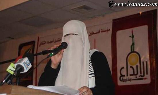 این دختر بخاطر حجابش از جشنواره اخراج شد! (عکس)