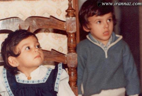 ماجرای جالب دعوای پرستو صالحی با برادرش! (تصویری)