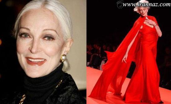 انتخاب شدن زیباترین زنان بالای 65 سال جهان! (عکس)