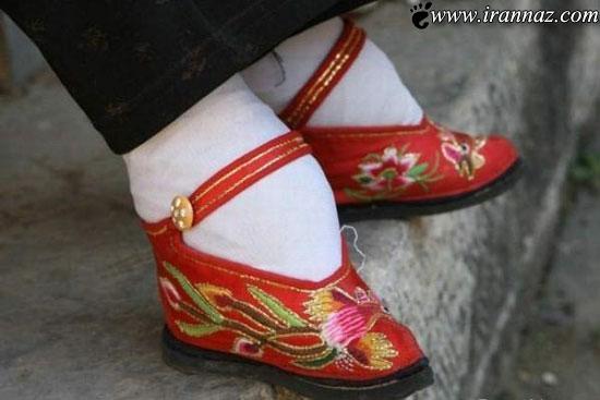 رسم وحشتناک و عجیب مردم چین برای زنان!! (تصویری)