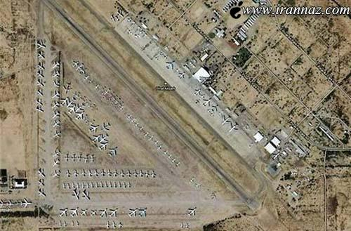عکس های دیدنی از بزرگترین قبرستان هواپیمای جهان!