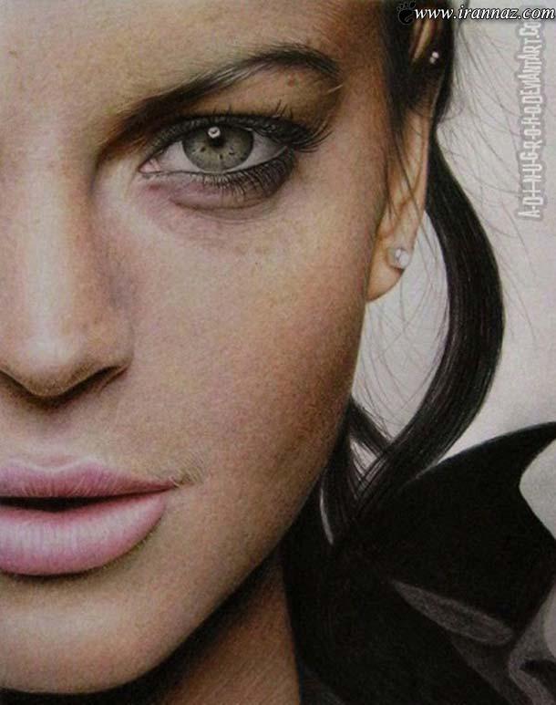 نقاشی های بسیار زیبا و باور نکردنی با مداد رنگی