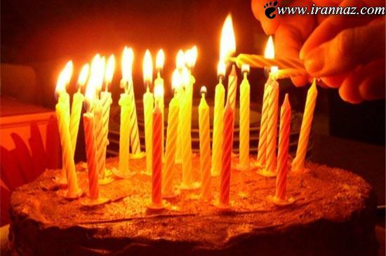 به نظر شما چرا روی کیکهای تولد شمع روشن میکنند؟!