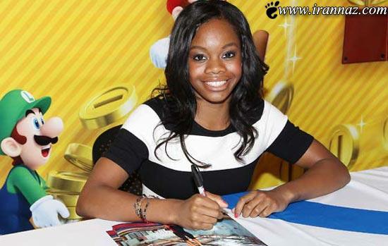 دختر سیاه پوست بانوی سال 2013 آمریکا شد! (عکس)