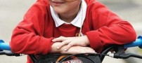 حساسیت بسیار عجیب و غریب پسری 6 ساله (عکس)
