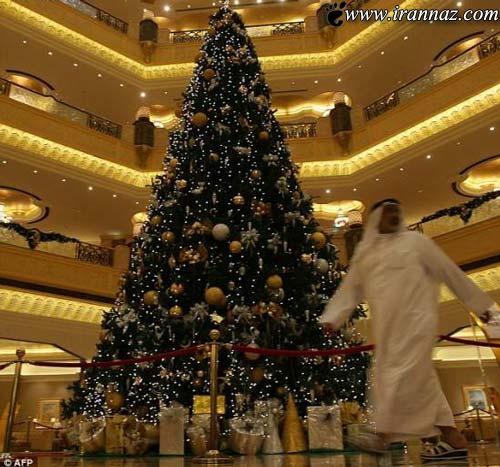 وقتی که یک عرب کریسمس را جشن می گیرد (عکس)