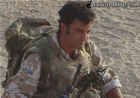 این سرباز ادعا میکند که با ارواح زندگی میکند! (عکس)