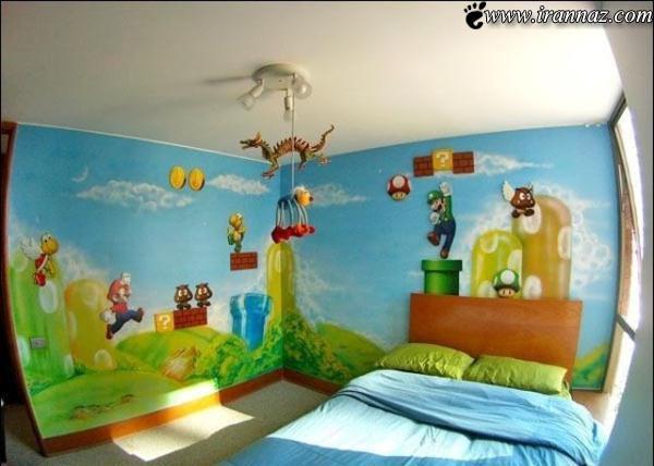 از دیدن این اتاق خواب های جالب و بامزه لذت ببرید