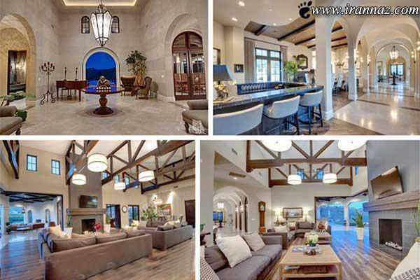 عکس هایی از خانه ی بسیاز زیبا و رویایی بریتنی اسپیرز
