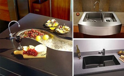 جدید ترین سینک های ظرفشویی (عکس)
