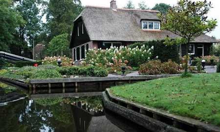 دهکده گیتورن در هلند (عکس)