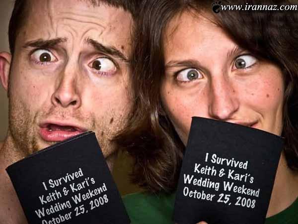 عکسهایی بامزه از این زوج خلاق در زندگی زناشویی