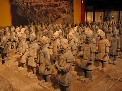 بزرگترین گنجینه ی امپراتور چین (عکس)