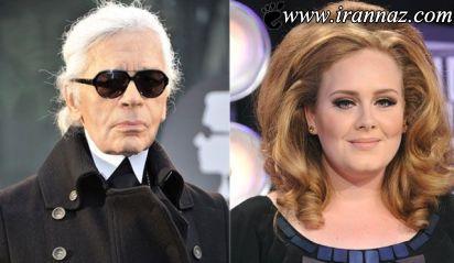 اظهارات جنجالی یک طراح مد و لباس در مورد Adele