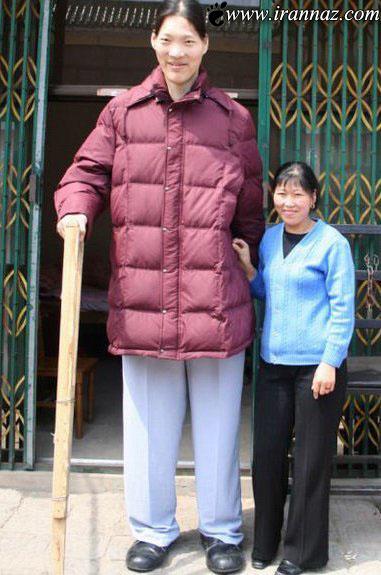درگذشت قد بلند ترین زن دنیا با 2 متر 36 سانتیمتر قد!!