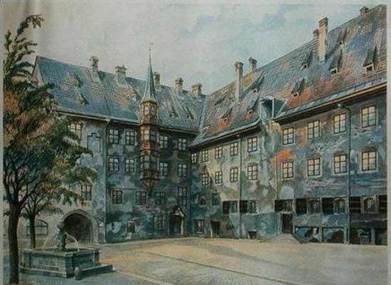نگاهی به زیرو بم نقاشی های حکمران ارتش نازی ها (عکس)