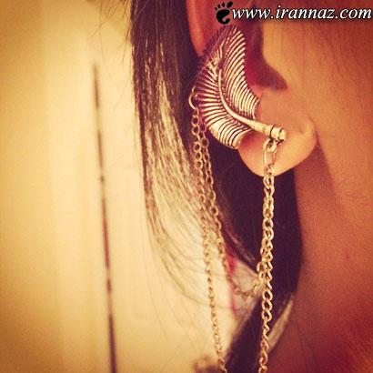با این مدلهای زیبای گوشواره صورتتان را جذاب تر کنید